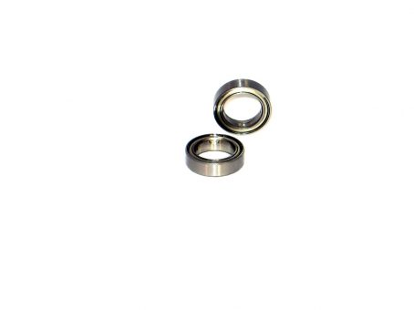 10x15 Metal Shielded Ceramic Ball Bearings (2) 10x15x4 6700-ZZ/C