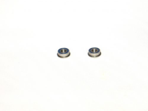 4×8 Flanged Rubber Sealed Ceramic Ball Bearings (2) 4x8x3 MF84-2RS/C 1