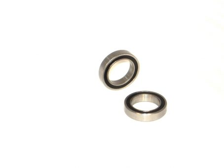 1/2 x 3/4 Rubber Sealed Ceramic Ball Bearings (2) R1212-2RS/C