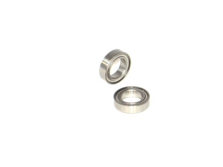 3/8 x 5/8 Metal Shielded Ceramic Ball Bearings (2) R1038-ZZ/C