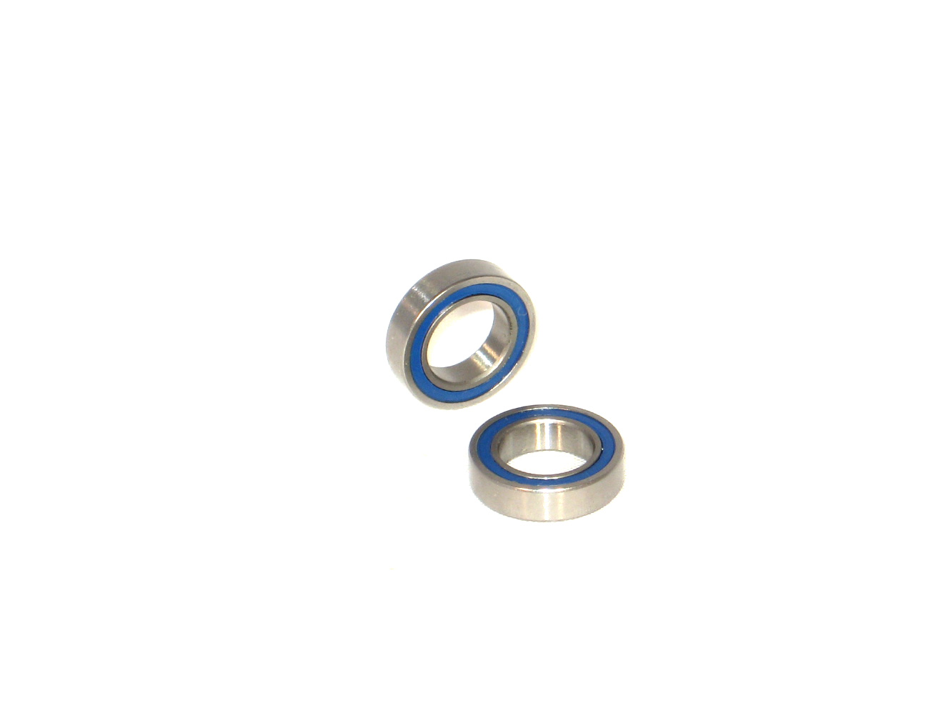 3/8 x 5/8 Rubber Sealed Ceramic Ball Bearings (2) R1038-2RS/C
