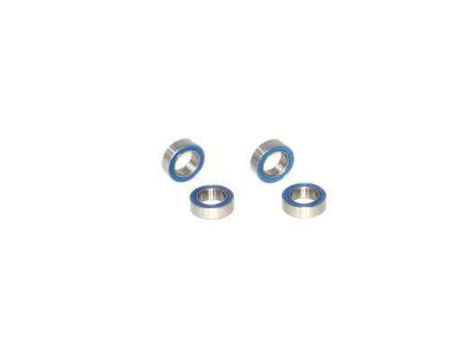 6×10 Rubber Sealed Ball Bearings (4) 6x10x3 MR106-2RS 1